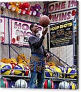 Hoop Shots Acrylic Print
