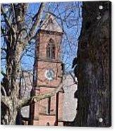 Hoosick Falls Brick Church Acrylic Print