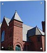 Hoosick Falls Church Acrylic Print