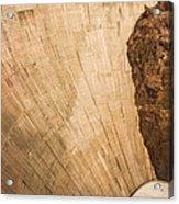 Hoover Dam 589ft Acrylic Print