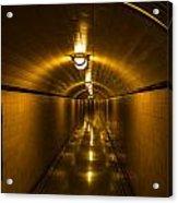 Hoover Dam Art Deco Tunnel Acrylic Print