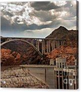 Hoover Dam Bridge Acrylic Print