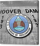 Hoover Logo  Acrylic Print