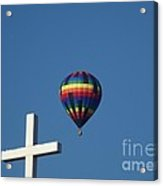 Hope Acrylic Print by Donna Parlow