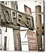 Hope Street Acrylic Print