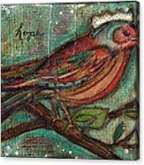 Hope Will Fly Acrylic Print