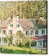 Hopewell Furnace In Pennsylvania Acrylic Print