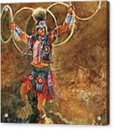 Hopi Hoop Dancer Acrylic Print
