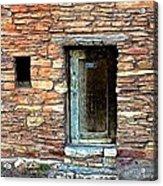 Hopi House Back Entrance Acrylic Print
