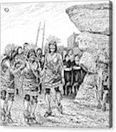 Hopi Indian Snake Dance Acrylic Print