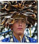 Hopi Warrior Acrylic Print