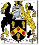 Hopkins Coat Of Arms Irish Acrylic Print