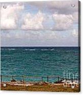 Horizon At Tulum Acrylic Print
