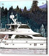 Vancouver Rowing Club Acrylic Print