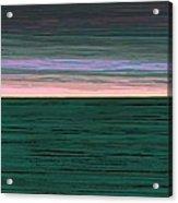 Horizon   Number 1 Acrylic Print