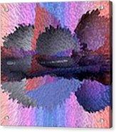 Horizontal Reflection Acrylic Print