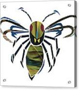 Hornet Acrylic Print by Earl ContehMorgan