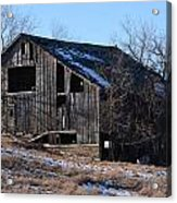 Horning Road Barn2 Acrylic Print by Jennifer  King