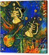 Horns And Other Things Acrylic Print