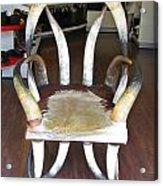 Horny Chair Acrylic Print