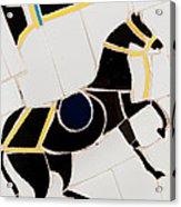 Horse-01 Acrylic Print by Haris Sheikh