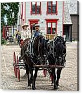 Horse And Buggy Sc3643-13 Acrylic Print