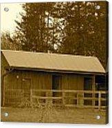 Horse Barn  Acrylic Print