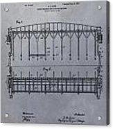 Horse Breaker Patent Acrylic Print