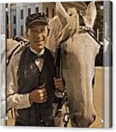 Horse Carriage Driver 3 Acrylic Print