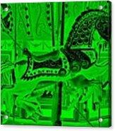 Green Horse E Acrylic Print
