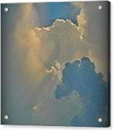 Horse Head Cloud Acrylic Print