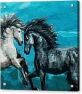 Horse Paintings 011 Acrylic Print