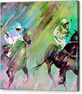 Horse Racing 04 Acrylic Print