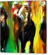 Horse Racing IIi Acrylic Print