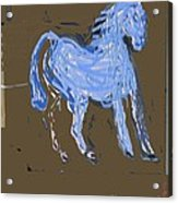 Horse Revisited Acrylic Print by Jay Manne-Crusoe