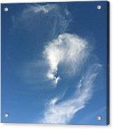 Horse Spirit Cloud Acrylic Print