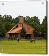 Horse Stables 2 Acrylic Print