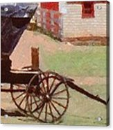 Horseless Carriage Acrylic Print by Jeff Kolker
