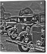 Horseless Carriages Acrylic Print