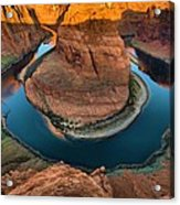 Horseshoe Bend In The Morning Acrylic Print