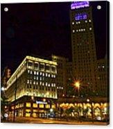 Horseshoe Casino Cleveland Acrylic Print