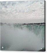 Horseshoe Falls - Winter Acrylic Print