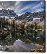 Horseshoe Lake Cloud Dramatic Acrylic Print