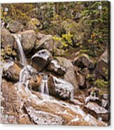 Horsethief Falls - Cripple Creek Colorado Acrylic Print