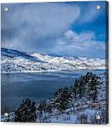 Horsetooth Reservoir Looking North Acrylic Print
