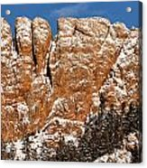 Horsetooth Up Close Acrylic Print by Paul Berger