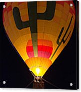 Hot Air Above Arizona Acrylic Print
