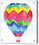 Hot Air Balloon 02 Acrylic Print