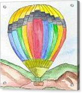 Hot Air Balloon 03 Acrylic Print