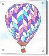 Hot Air Balloon 06 Acrylic Print